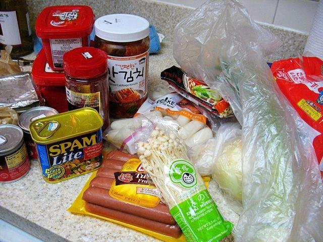 budae jjigae ingredients